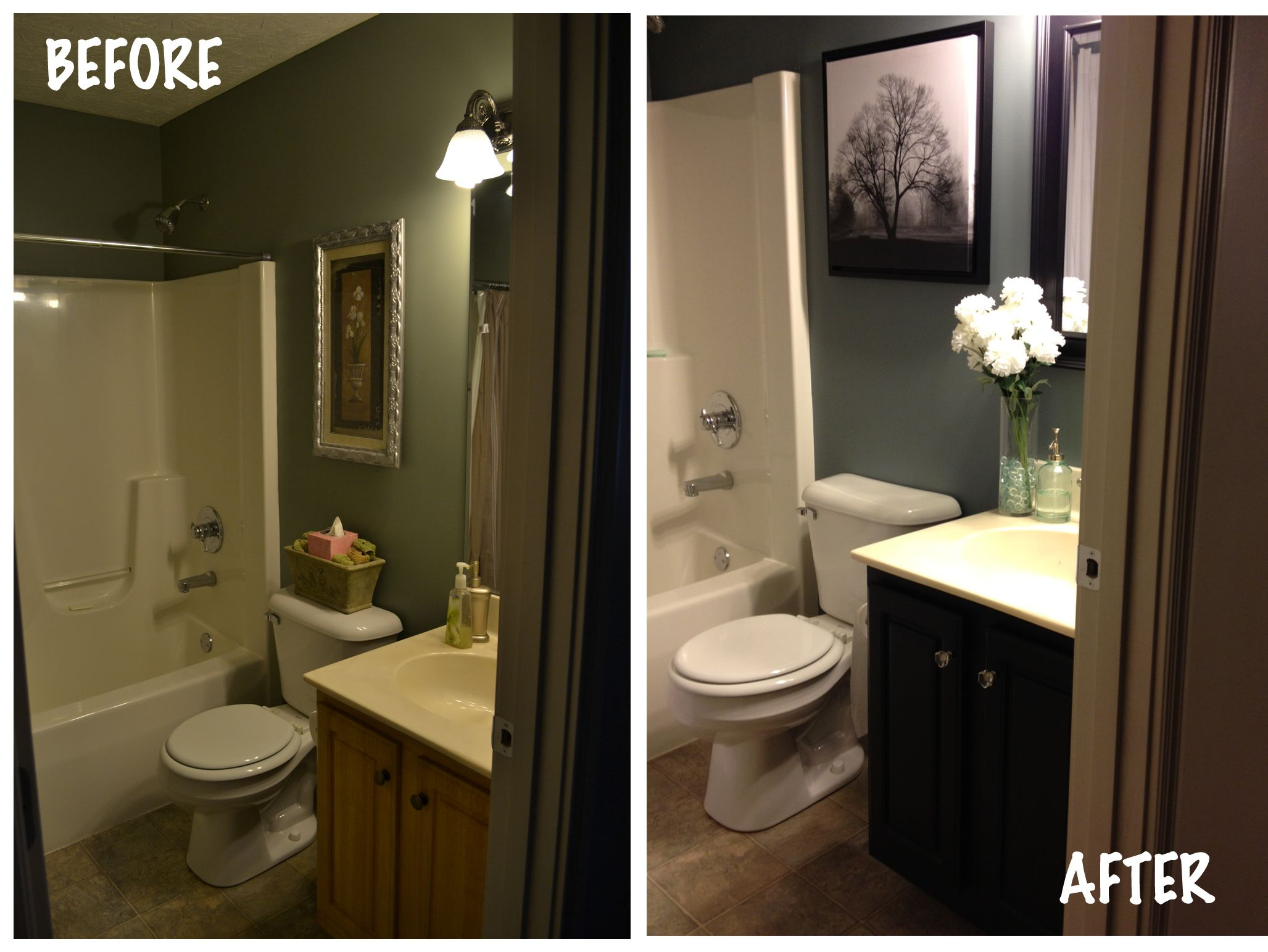 Small Bathroom Re Do Bathroom Pinterest Stylists Bathroom Makeovers An