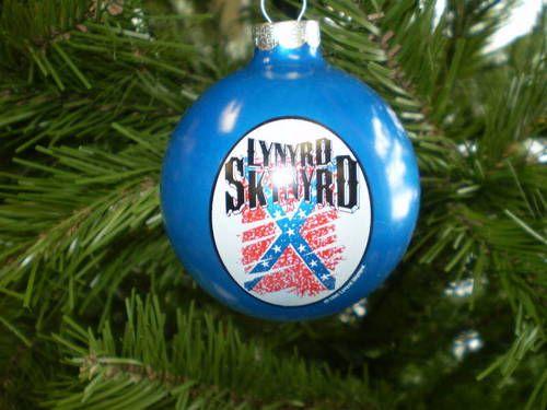 lynyrd skynyrd rock and roll christmas ornaments ac dc ozzy kiss