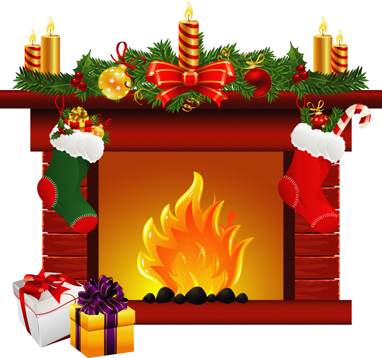 Found On Bing From Weclipart Com Christmas Fireplace Decor Christmas Fireplace Christmas Ornaments