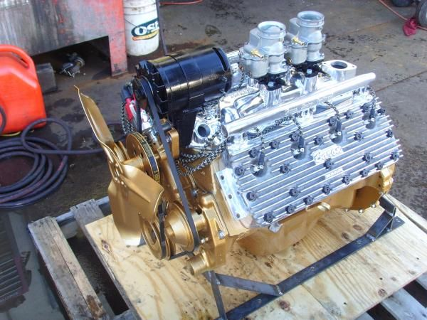 Flathead with Baron Heads  | Flatheads/FORD muscle | Crate
