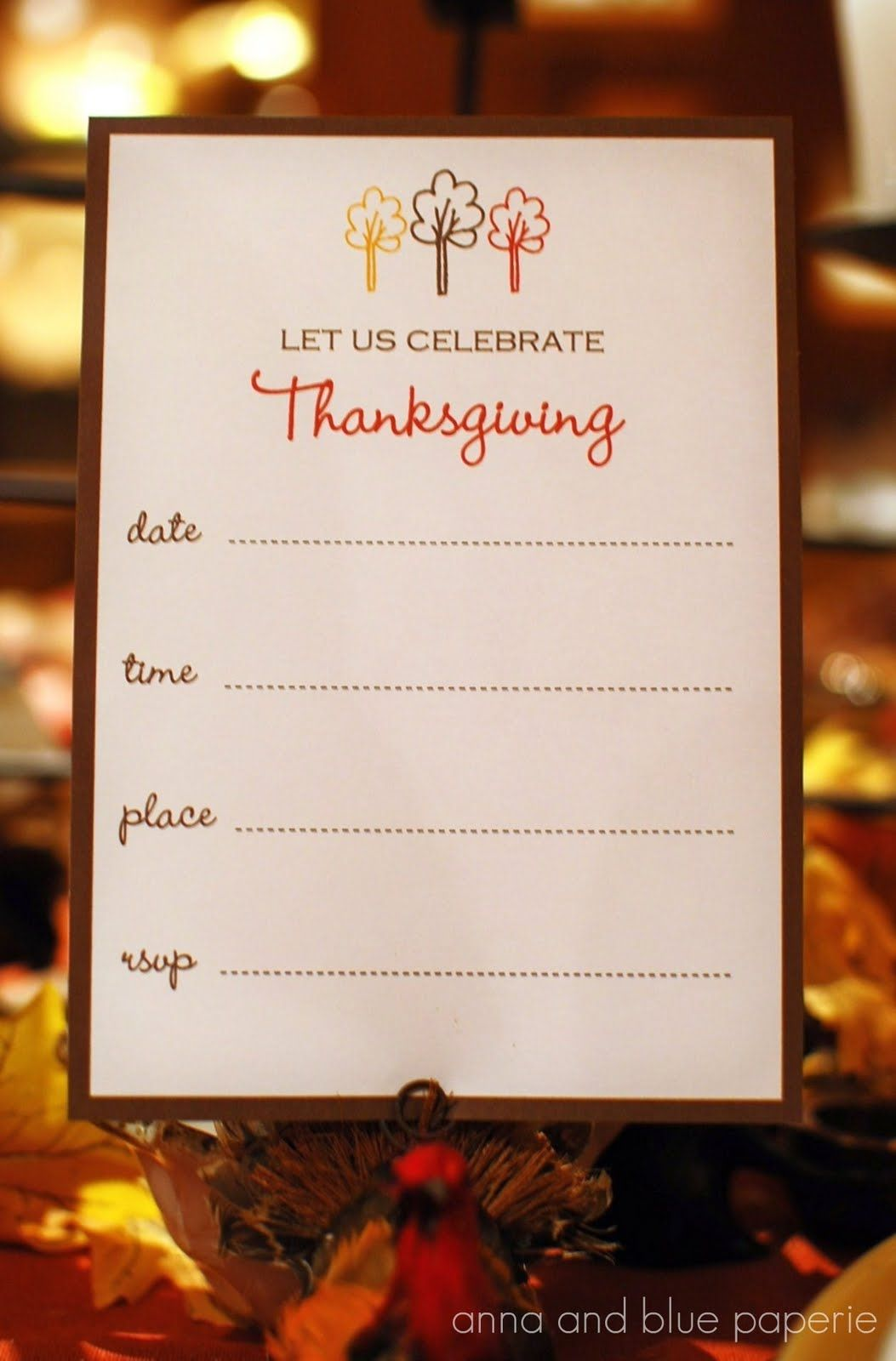 There are some great Thanksgiving templates and printables out there ...