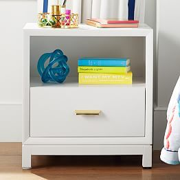 Bedside Tables Nightstands For Teens Pbteen Bedroom Bedside