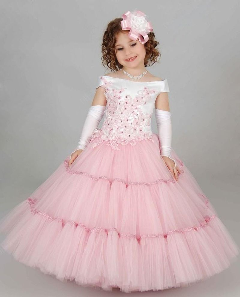Lovely Girl Pageant Dresses For Evening Kids Gowns Christmas Beauty ...