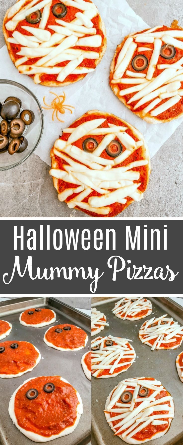 Halloween Pizza – Mummy Pizza Recipe