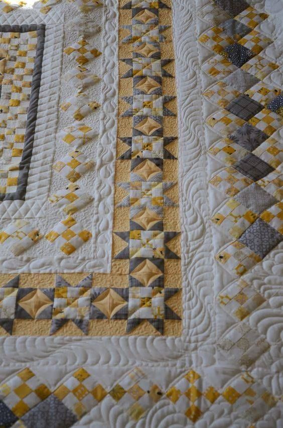 beautiful color combination | quilts | Pinterest | Quilt border ... : machine quilting blogs - Adamdwight.com