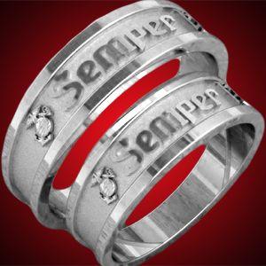 Love These Marine Wedding Usmc Ring Usmc Wife