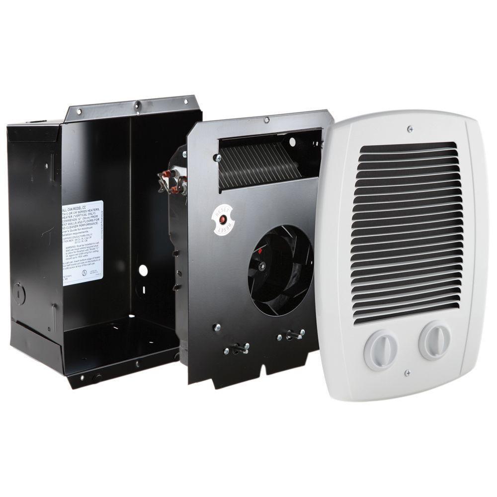 Cadet Compak Bath 1000Watt 120240Volt Inwall Fanforced Amazing Small Space Heater For Bathroom Inspiration