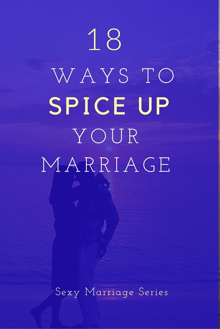 Life for married couples spice up sex