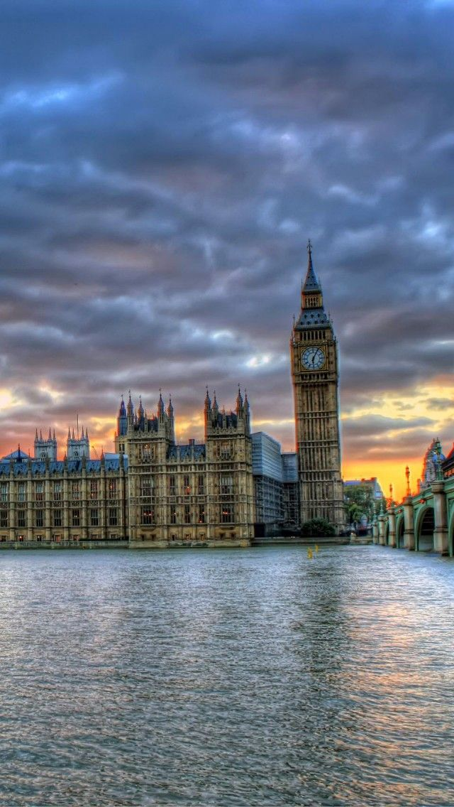 Parliament And Big Ben, London, England Travel iPhone 5