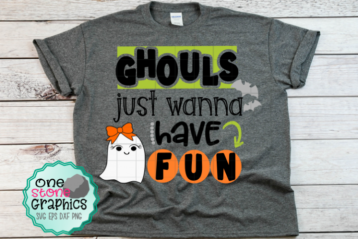 Halloween Svgs Ghouls Just Wanna Have Fun Svg Ghost Svg Svg Have Fun Fun