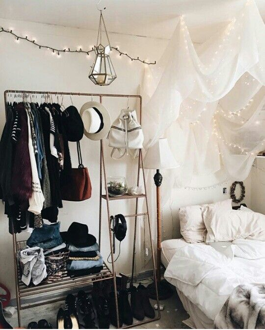 indie bedroom tumblr girly hanging balances tumblr room decor teen tumblr diys closet full of clothes in 2018 pinterest