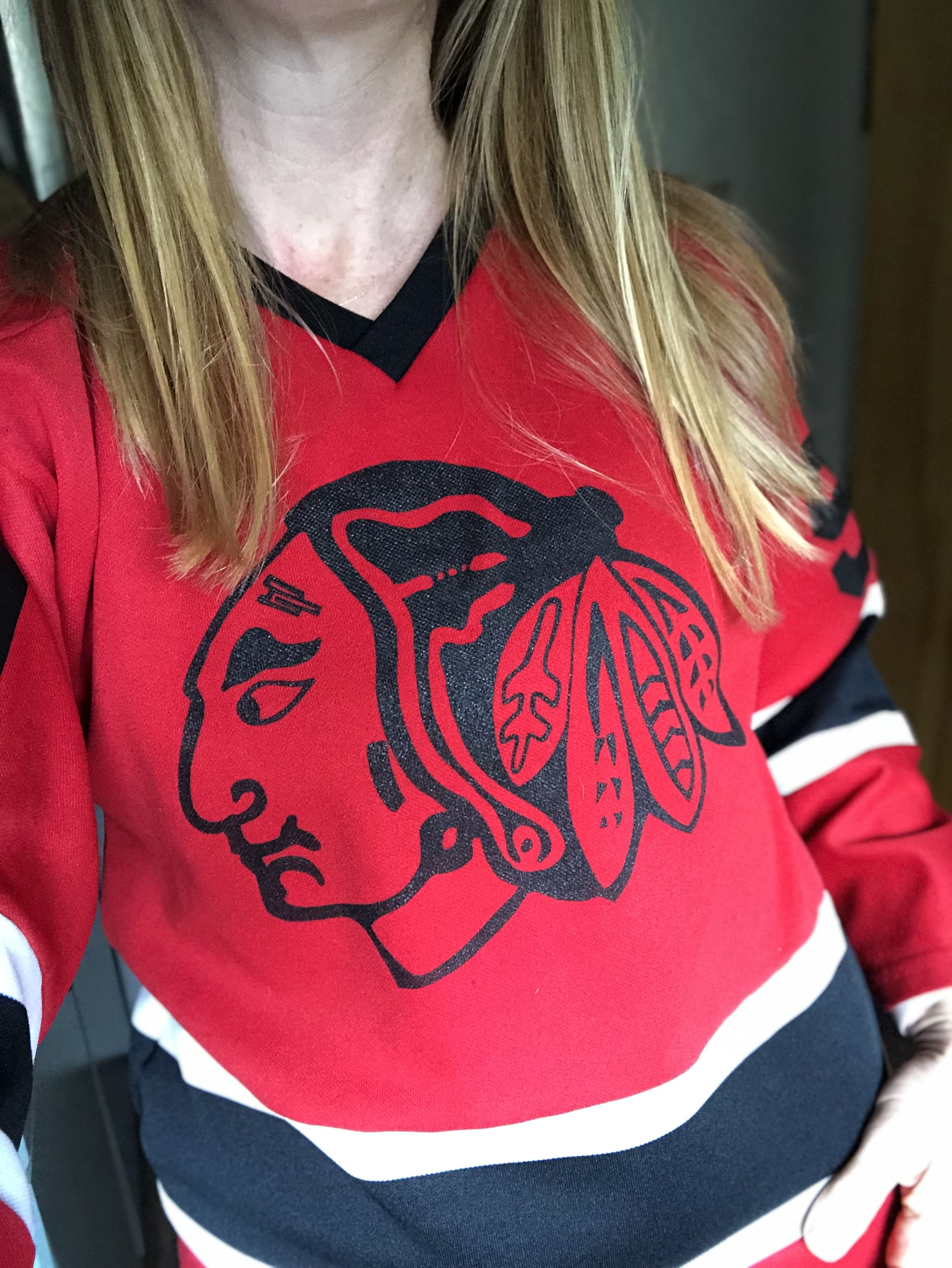 size 40 7ab6b fedaa Details about Vintage Jersey Athletic Sewing Chicago ...