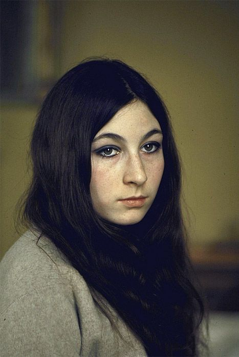 lovely portrait of angelica huston