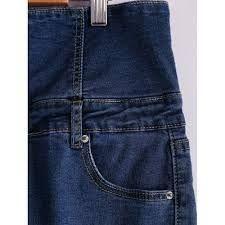 066c10152 Resultado de imagen para como agrandar cintura de un pantalon jean de peto  pinterest
