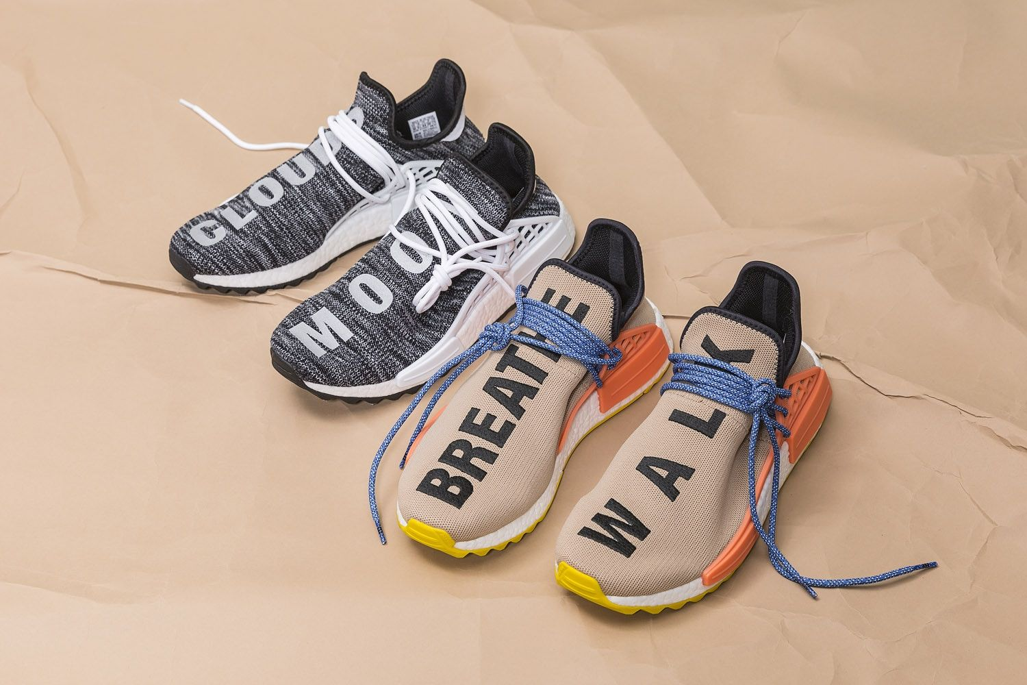Pharrell adidas Originals Statement Hiking Collection Hu NMD Trail 2017  November 11 Release Date Info HBX