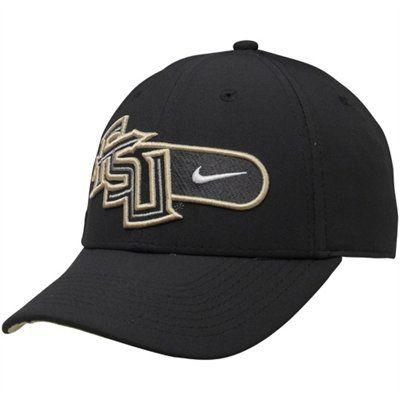 watch bc050 ba9a3 Nike Florida State Seminoles (FSU) Charcoal Legacy 91 Training Swoosh Adjustable  Hat