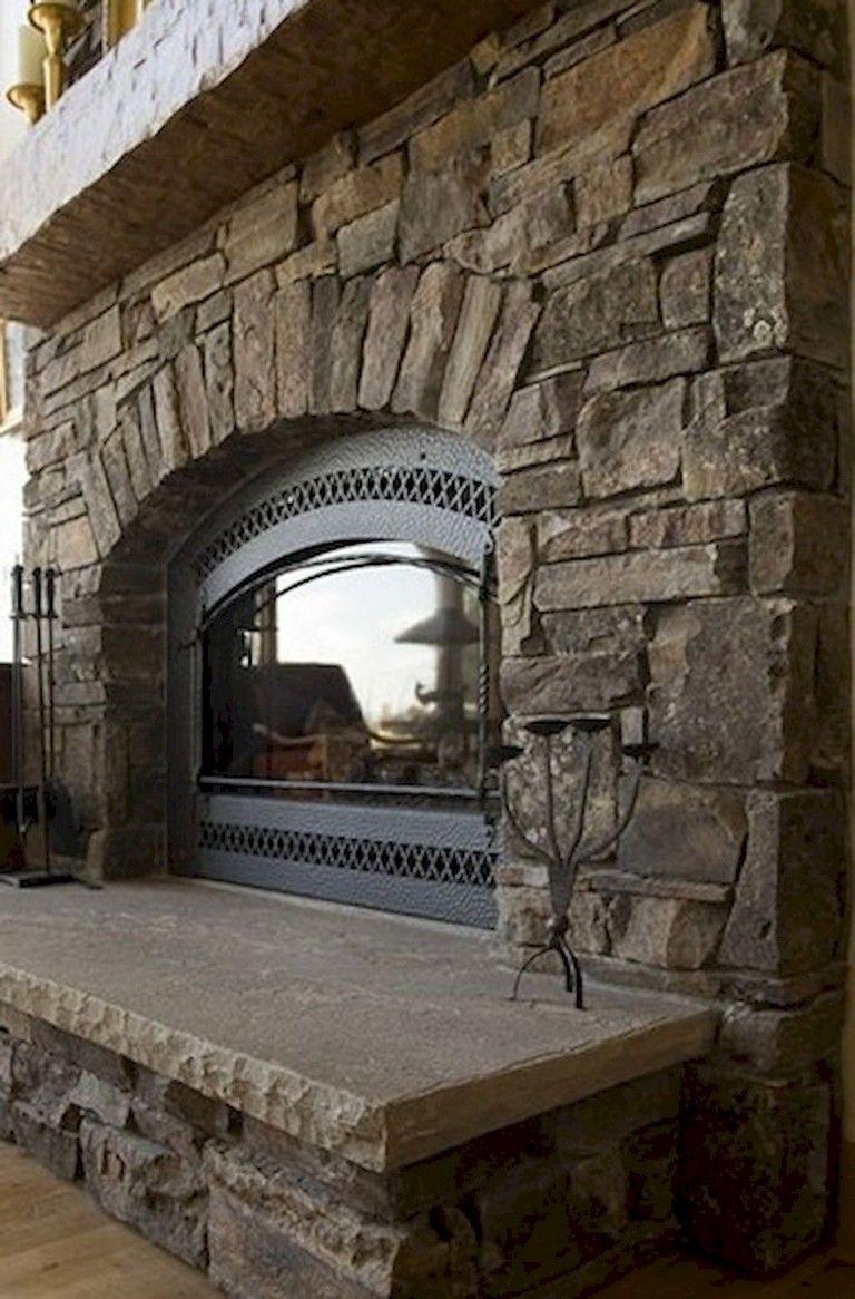 76 Rural Fireplace Decor Ideas Fireplace Hearth Bird House