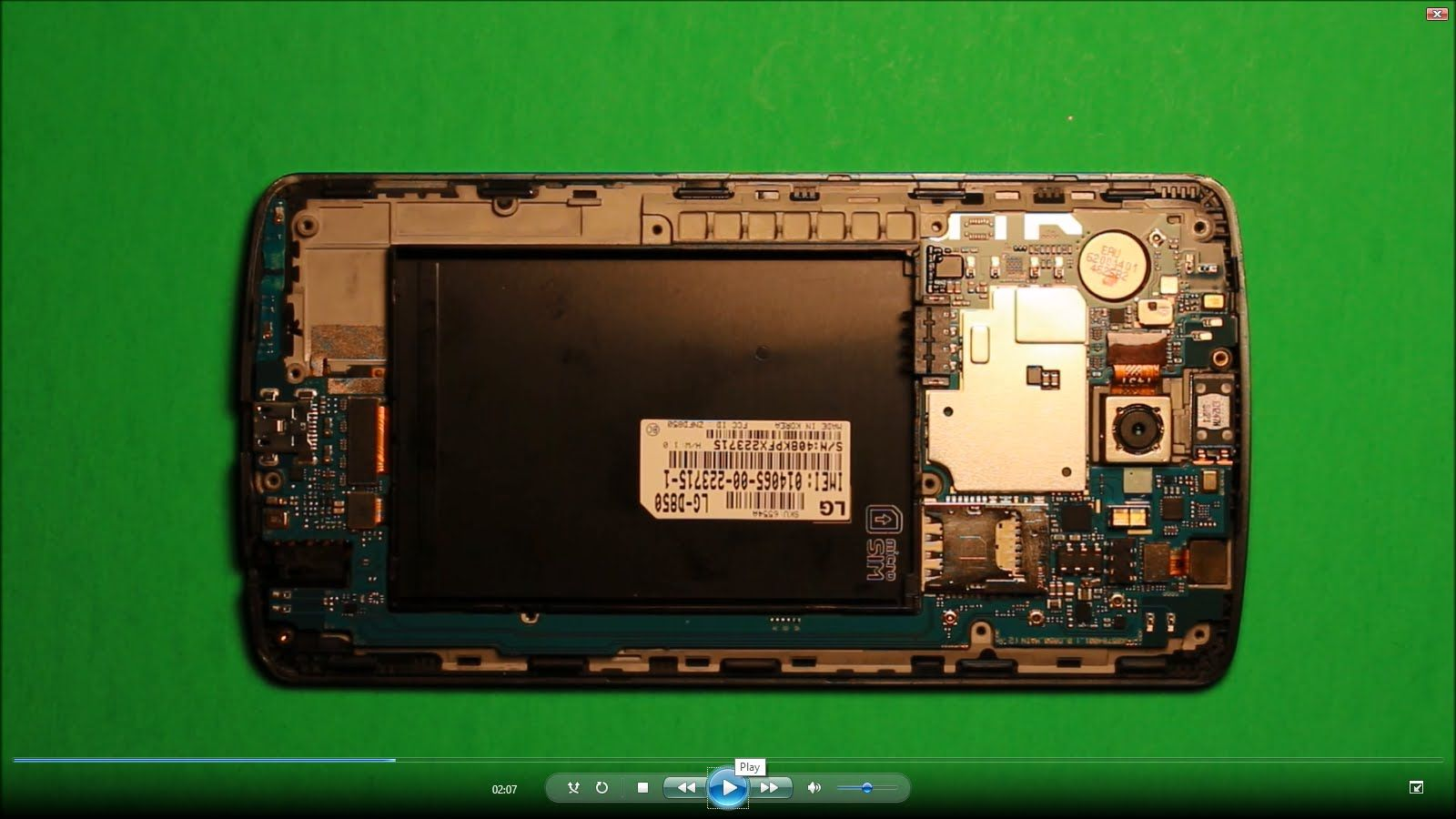 LG G3 LCD Screen Replacement DIY #LGG3 #PhoneRepair #DIY