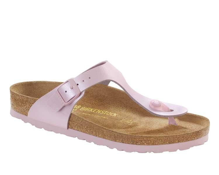 Birkenstock Gizeh Flor W (rosa) Sandalen bei