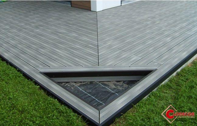Terrasse Composite Posee En Point De Hongrie Terrasse Composite Lame De Terrasse Composite Terrasse
