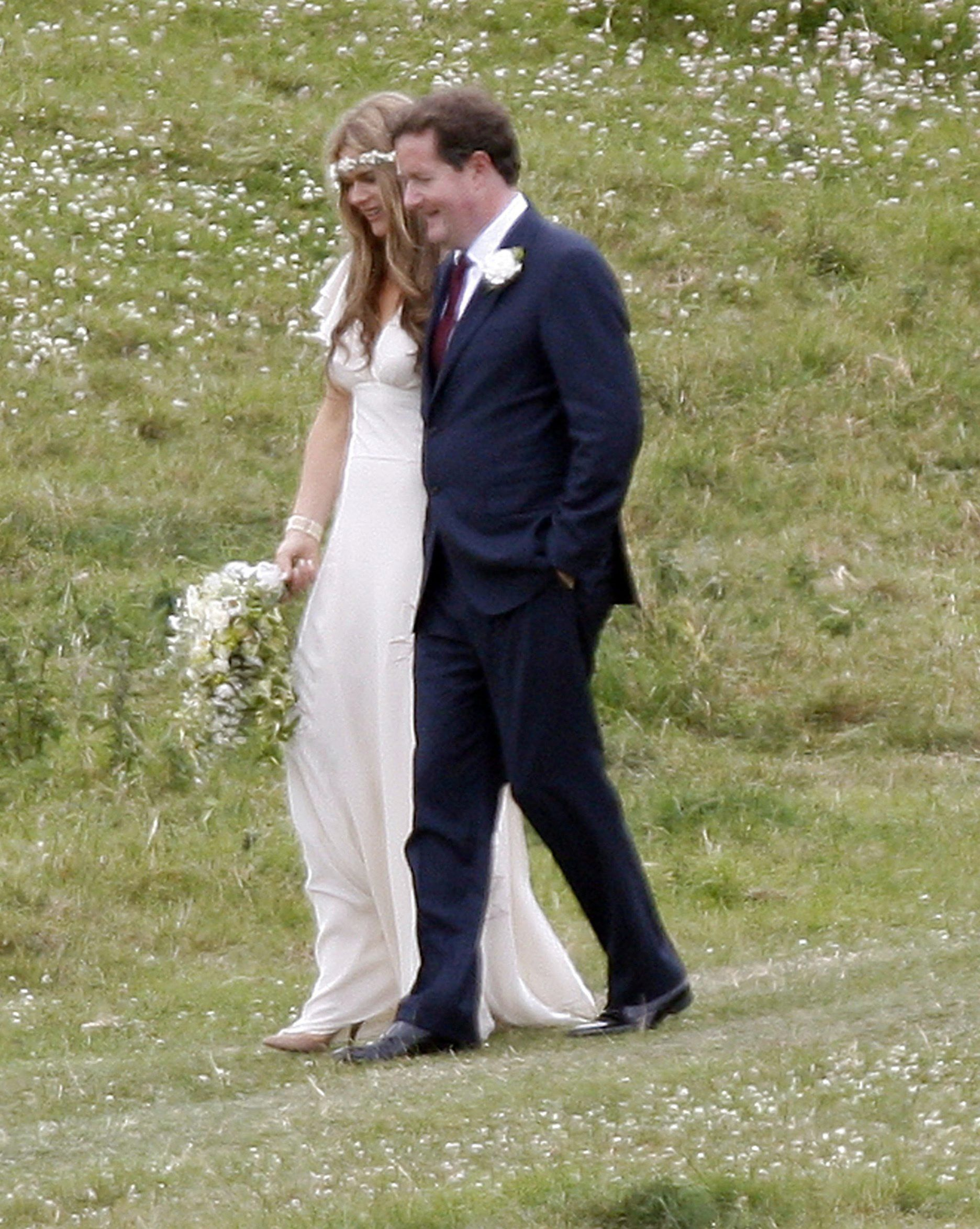 Piers Morgan And Celia Walden Celebrity Wedding Photos Celebrity Weddings Celebrities