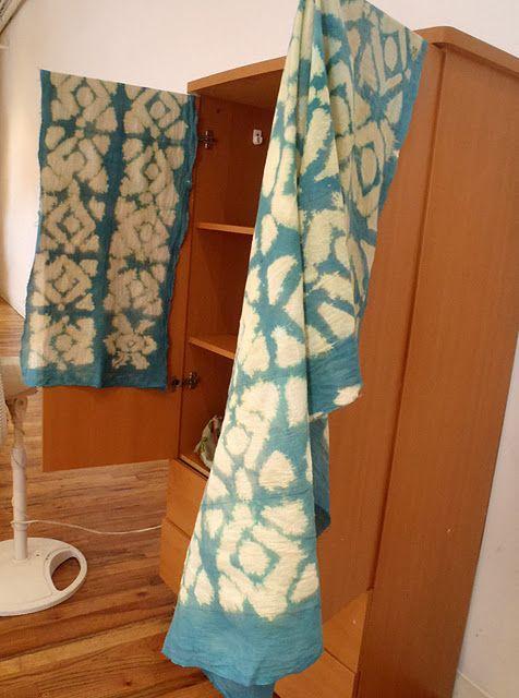 DIY Ikat Fabric