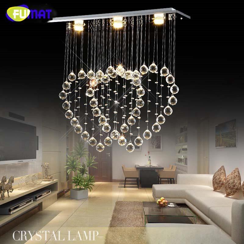 Creative K9 Crystal Chandelier Crystal 2 Hearts Suspension Light