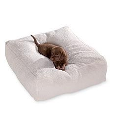 Small Sherpa Pouf Dog Bed in Holiday 2012 from Plow & Hearth on shop.CatalogSpree.com, my personal digital mall.