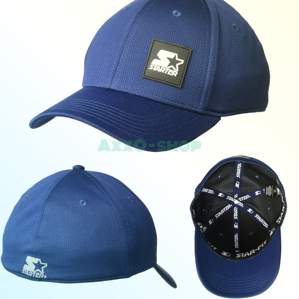 7bb2cffc5c1c0 eBay  Sponsored Starter Men s Fitted Cap with Wicking and Built-in Headband  Amazon Exclusive