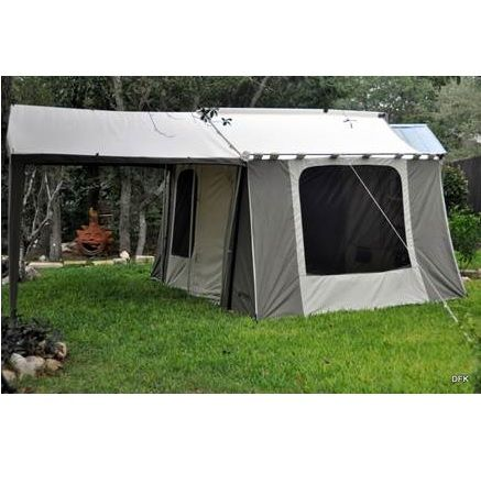 Kodiak Canvas Cabin Tent 6133 6 Person 9x12 With Deluxe Awning Canopy