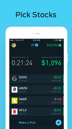 ‎BLUECHXP Stock Market Game on the App Store Stock