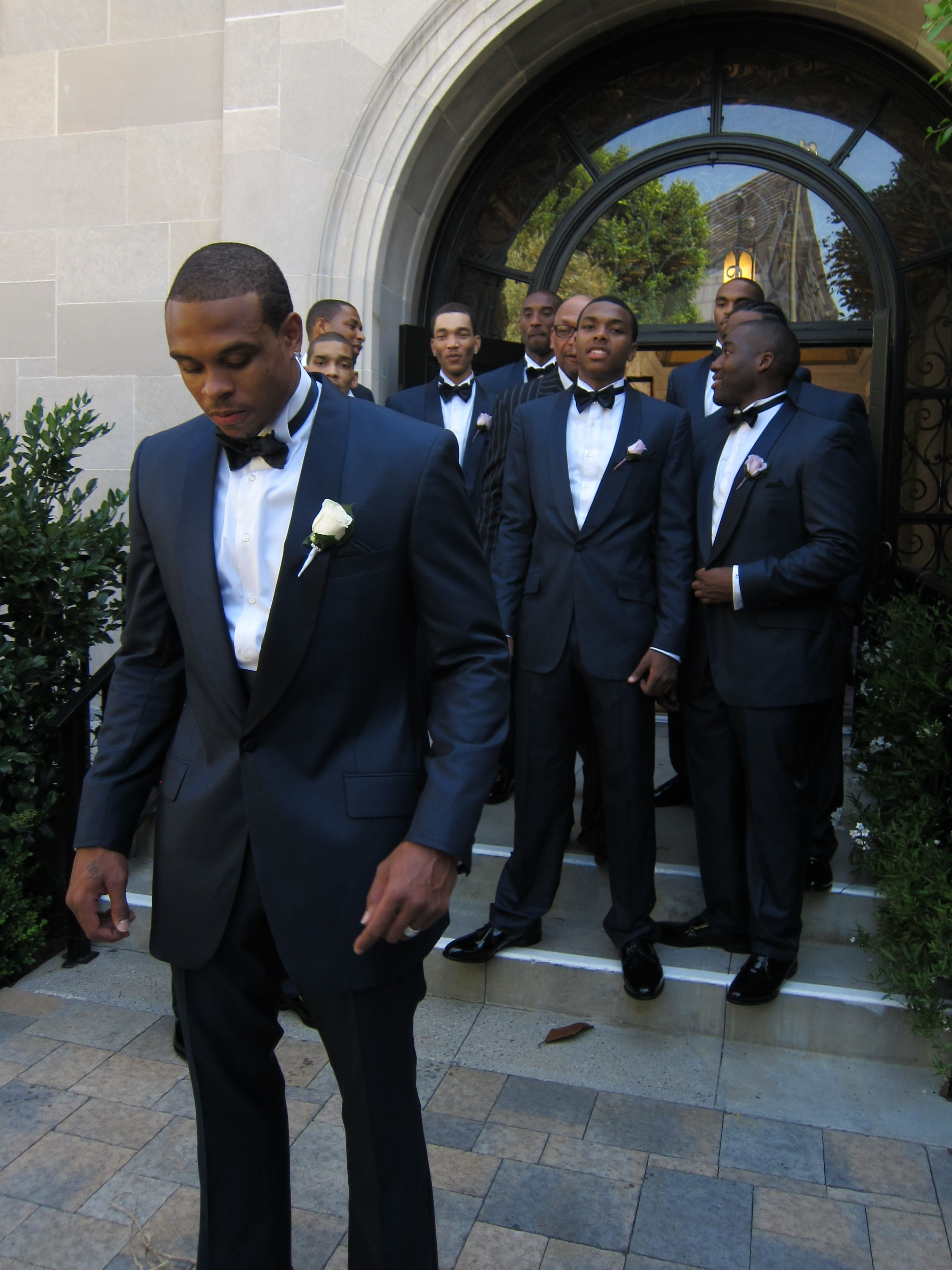 Wedding Styles Dark Blue Tuxedo