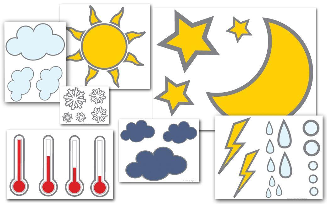 Preschool Printable -Weather! #prek