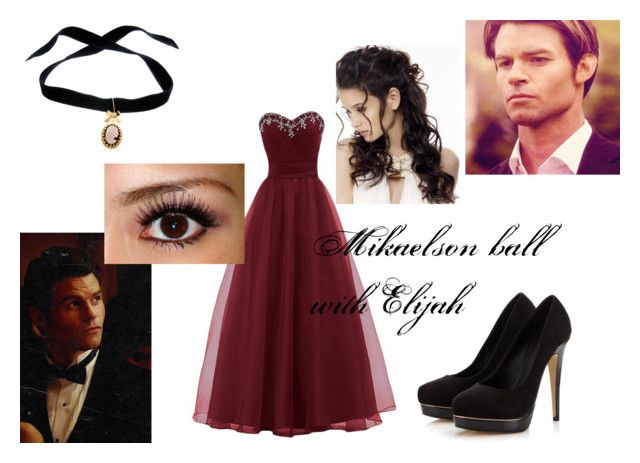 """Mikaelson ball with Elijah"" by larissa-gilbert ❤ liked on Polyvore featuring Bisou Bijoux Ariela and Lipsy"