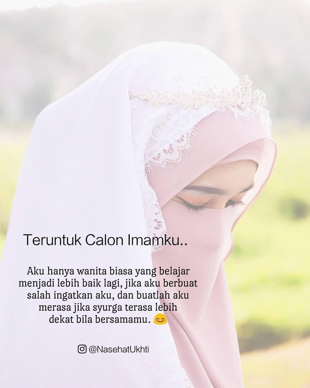 Puisi Islami Tentang Imam (suami) Tercinta Dan Puisi Calon