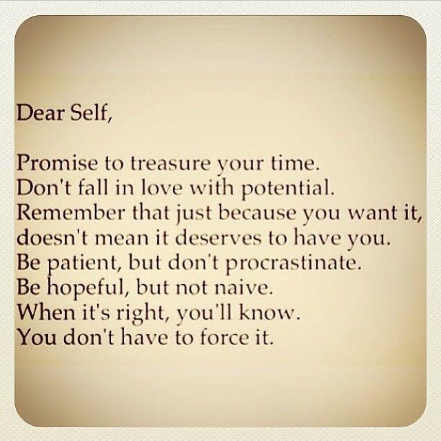 Life : Dear Self