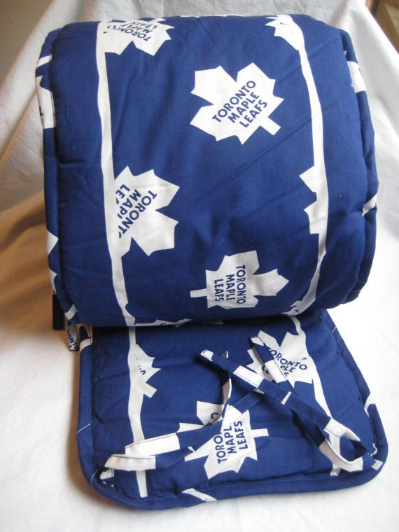 9171725ed Toronto Maple Leafs Bumper Pad Baby Crib Bedding Blue Official NHL ...