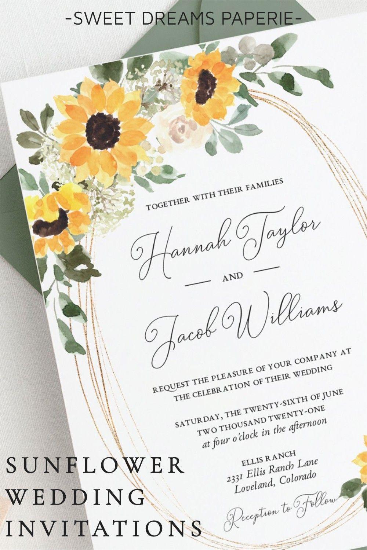 Rustic Sunflower Wedding Invitation Template Country Barn Etsy In 2021 Sunflower Wedding Invitations Sunflower Wedding Sunflower Wedding Invitation Template