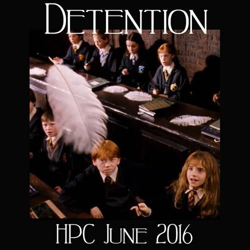 Detention - June Badge
