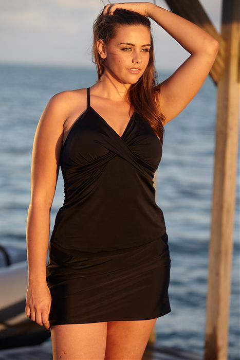 5 ways to look your best in a swimsuit | tankini, black and clothes