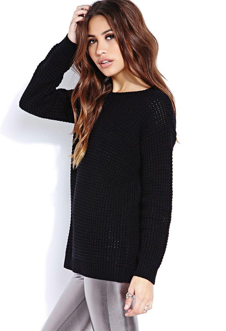 Black Sweater Forever 21