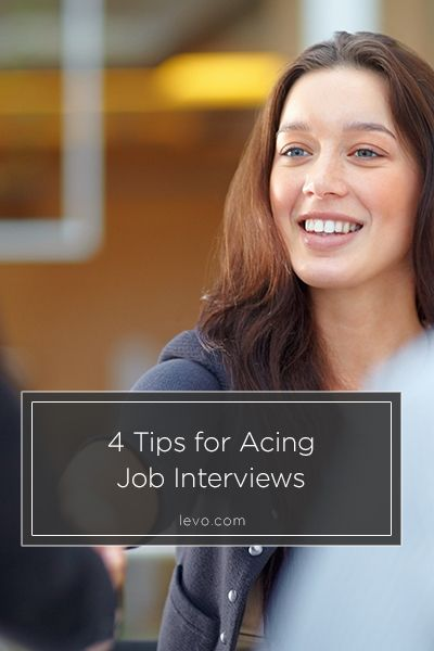 4 Tips for Acing Your Job Interviews Career  Education