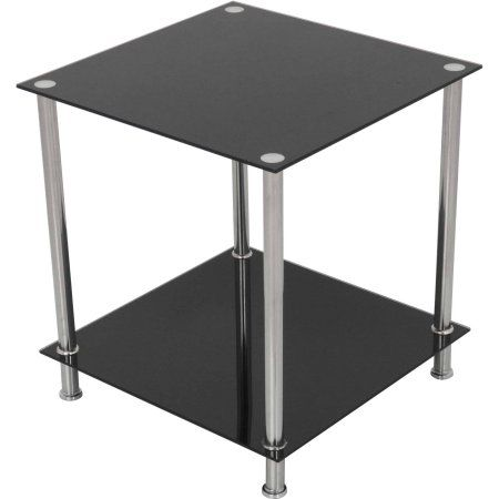 Home Square Side Table Side Table Lamps Glass Top Side Table