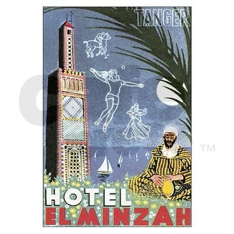 Tangier Morocco Postcards (Package of 8) by caferetro $9.50