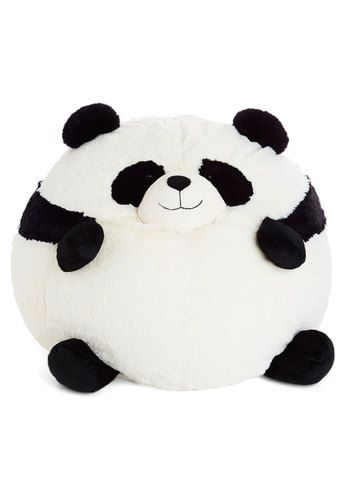 panda bean bag chair egg with stand ever since this soft by squishable came into your life every day has been a party massive rotund is perfect for lounging