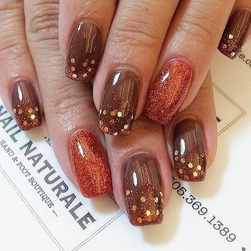 Awesome 33 Top Trending Nail For The Beginning Of The Year Http Vattire Com Index Php 2 Thanksgiving Nail Designs Fall Nail Art Designs Thanksgiving Nail Art