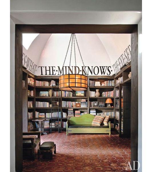 home library design idea - Home and Garden Design Idea's