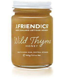 miel de thym nouvelle zelande