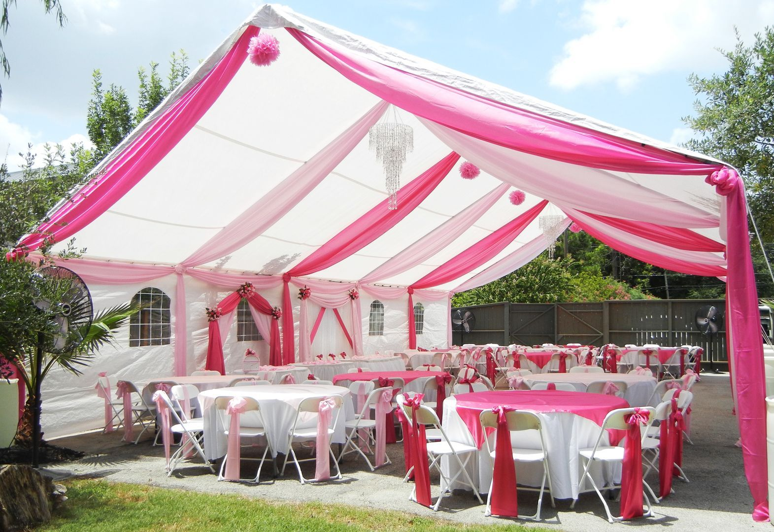 Party Rentals In 2020 Party Tent Decorations Wedding Canopy Decorations Tent Decorations