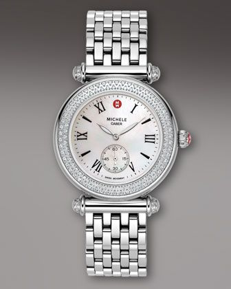 2463cf442 Michele Watches Caber Diamond Watch - Neiman Marcus | In case you ...
